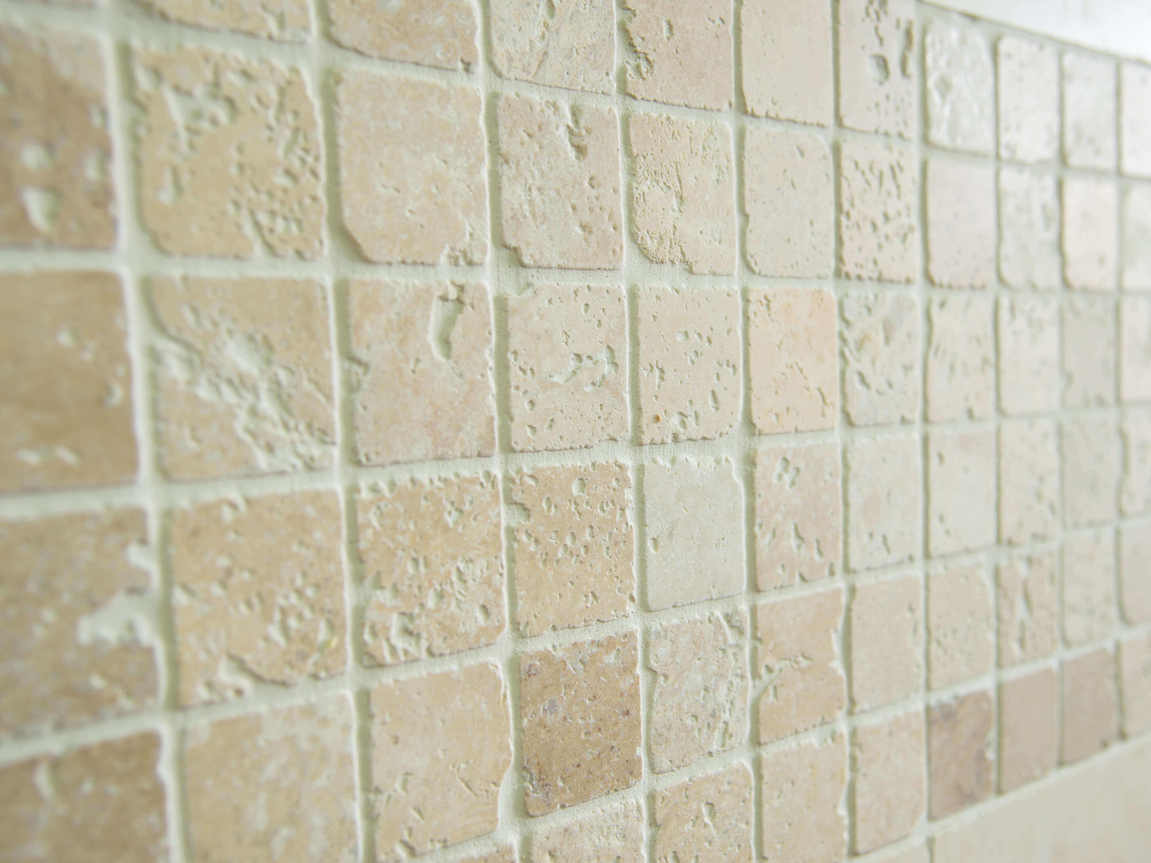 Mosaik aus Travertin   jonastone
