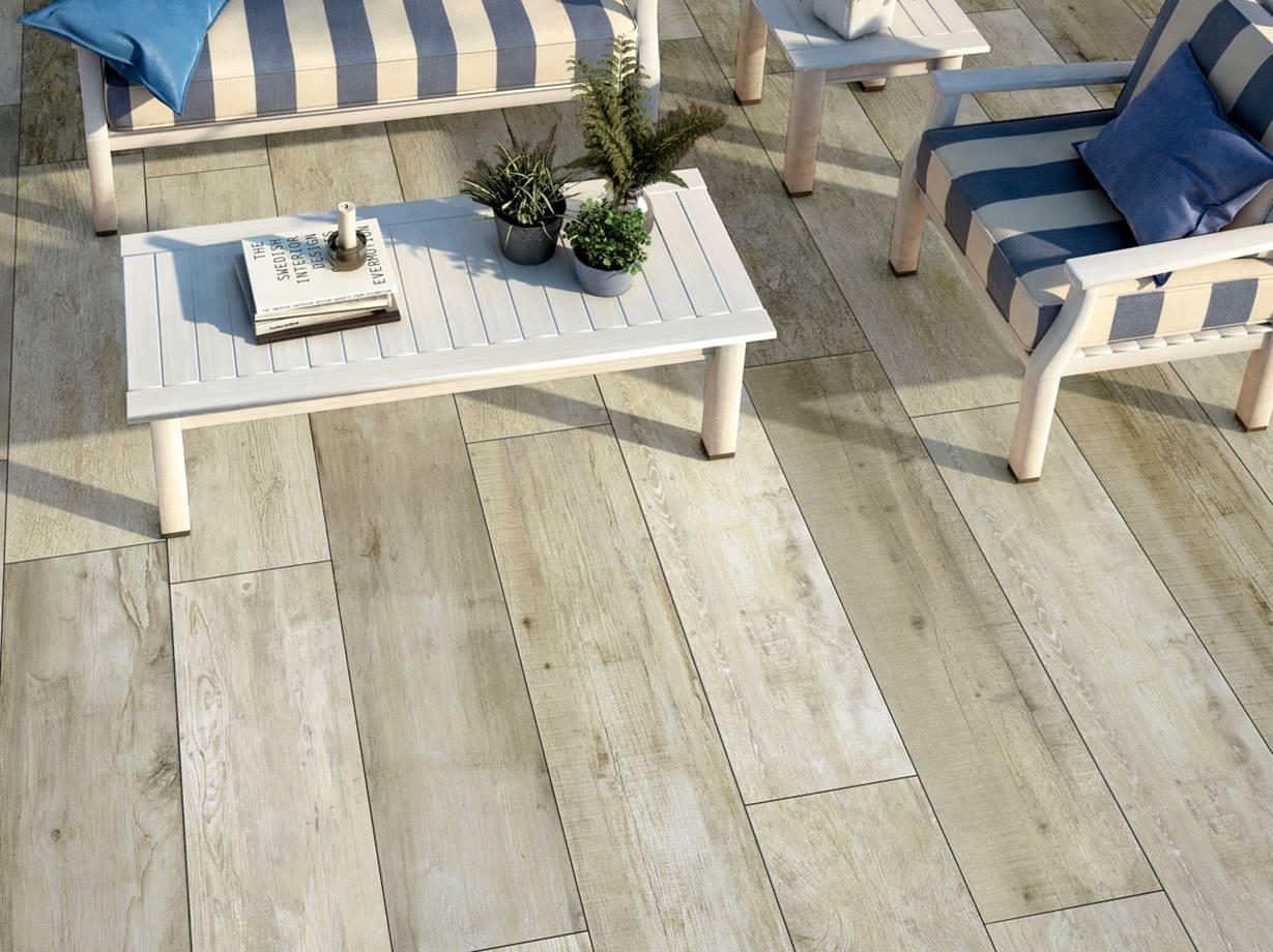 Terrassenplatten aus Feinsteinzeug reinigen   jonastone