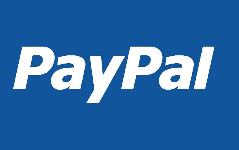 Icon für die Zahlung per PayPal